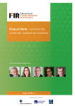 FIR - Cahier Finance Verte 2018