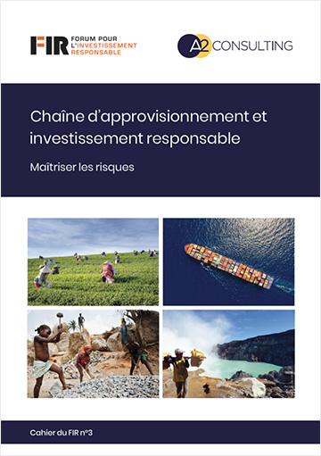 Cahier Chaîne d'approvisionnement